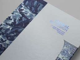 Catalogue Global by Design. Graphic Print Editorial Design Lisbon