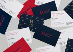 List It Homes Brand Identity