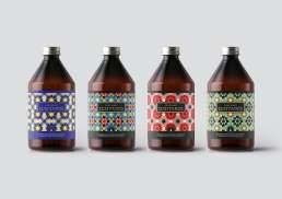 Label Designed by Panorama Design Studio